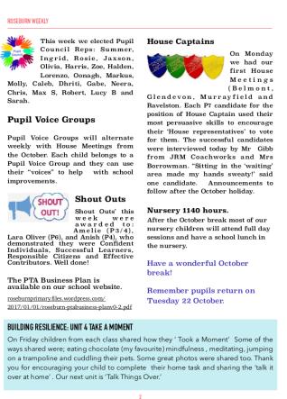 Roseburn Weekly 1
