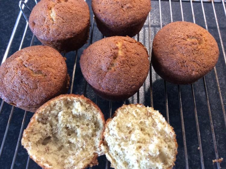 banans muffins